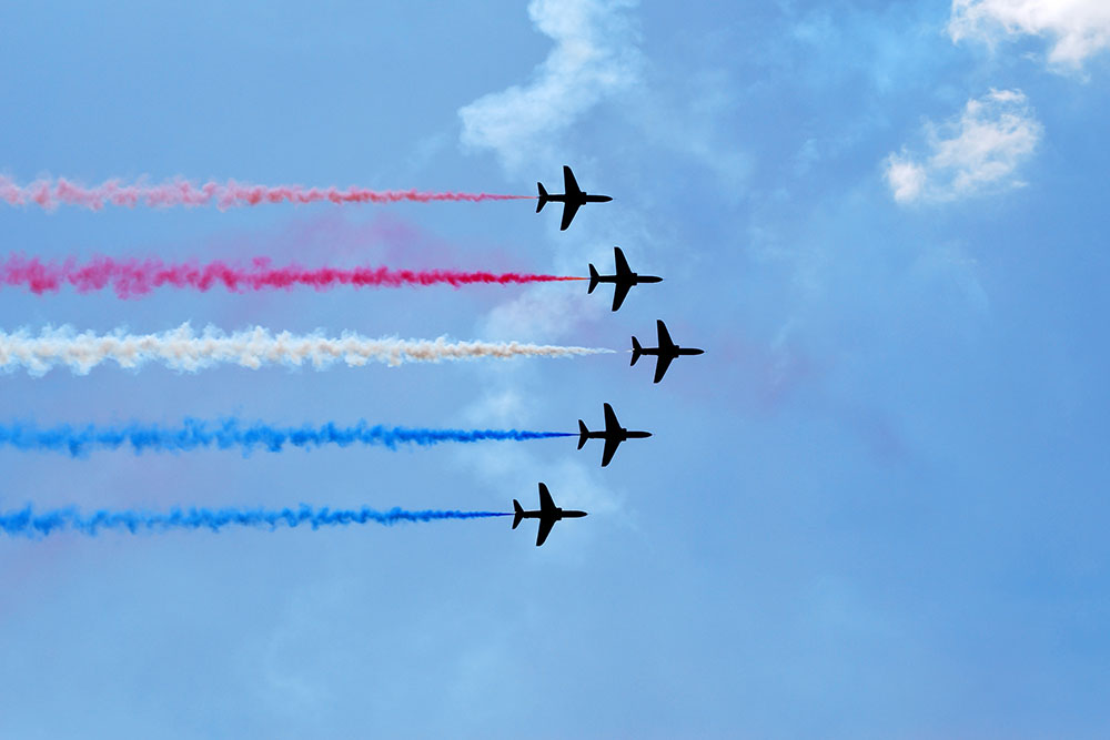 Air Show and Event Parking in Florida