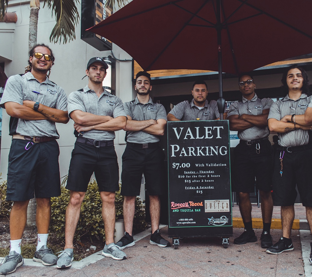 Valet Parking in Florida and Maine